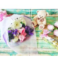 Chic Mixed Flower Package
