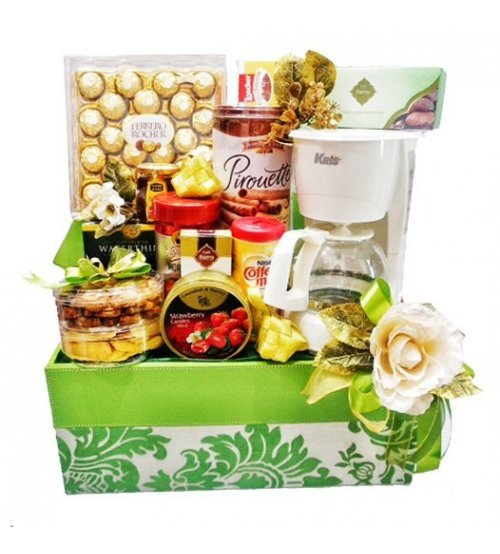 Luxury Eid Electronic & Snack Hampers I