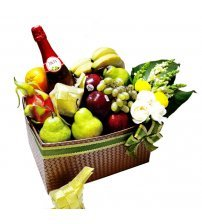 Ramadhan Fruits & Blooms Hampers